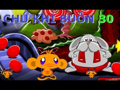 Game Chú khỉ buồn 30 - Video hướng dẫn chơi game