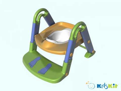 Kids Kit 3 In 1 Toilet Trainer Amp Step Up Potty Youtube