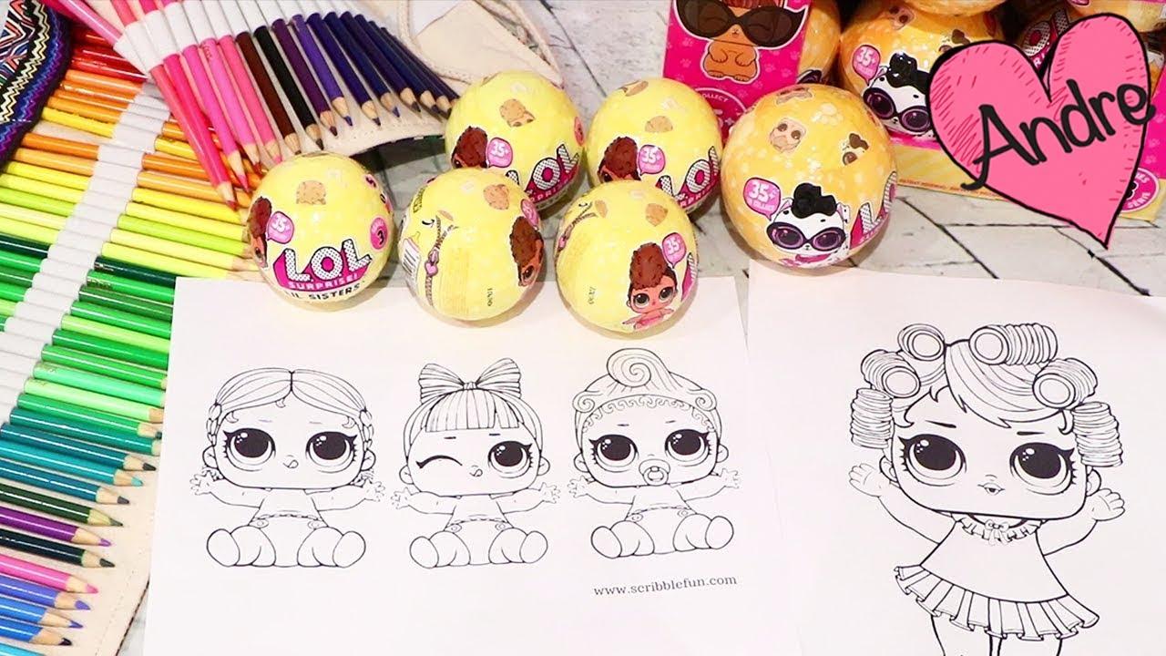 Dibujos para colorear y LOL Pets & Lil Sisters | Muñecas y juguetes ...