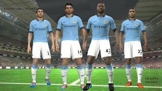 PES 2014 Manchester City New Kits 2014 2015 ║ Home
