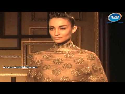 SRMJ India Couture Week 2014: Manish Malhotra's Collections displayed