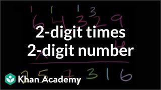 Multiplication 5: 2-digit times a 2-digit number