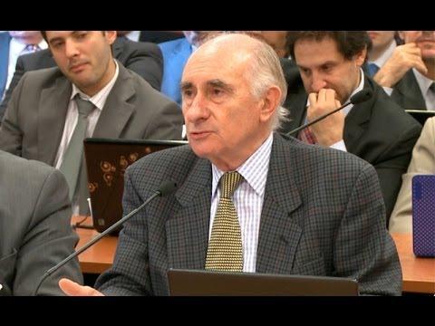 Fernando De la R�a expuso en el juicio por las coimas en el Senado de la Naci�n