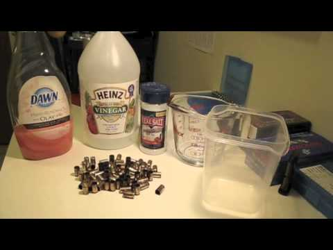 Cleaning Brass for Reloading (Without a Tumbler)