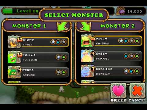 My Singing Monsters Breeding