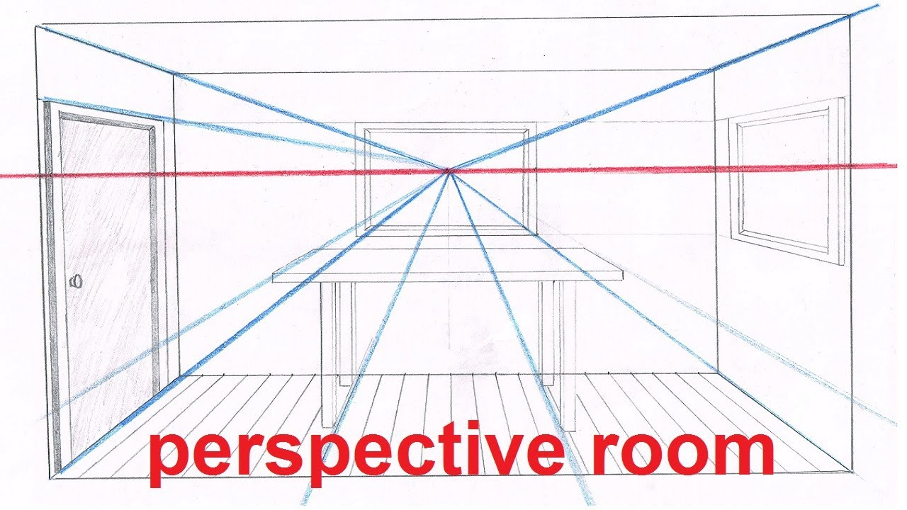 Linear Perspective Drawing Lesson 5  6