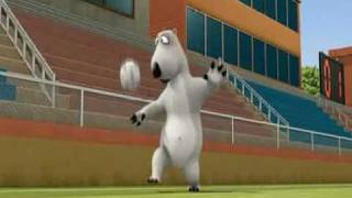 Medveď Bernard - Futbal