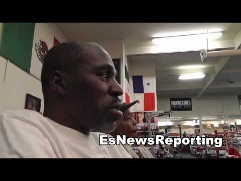 roger mayweather on floyd sparring 21 min no breaks EsNews Boxing