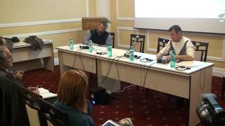 Discurs Ion Ștefăniță la o conferința internațională despre patrimoniu