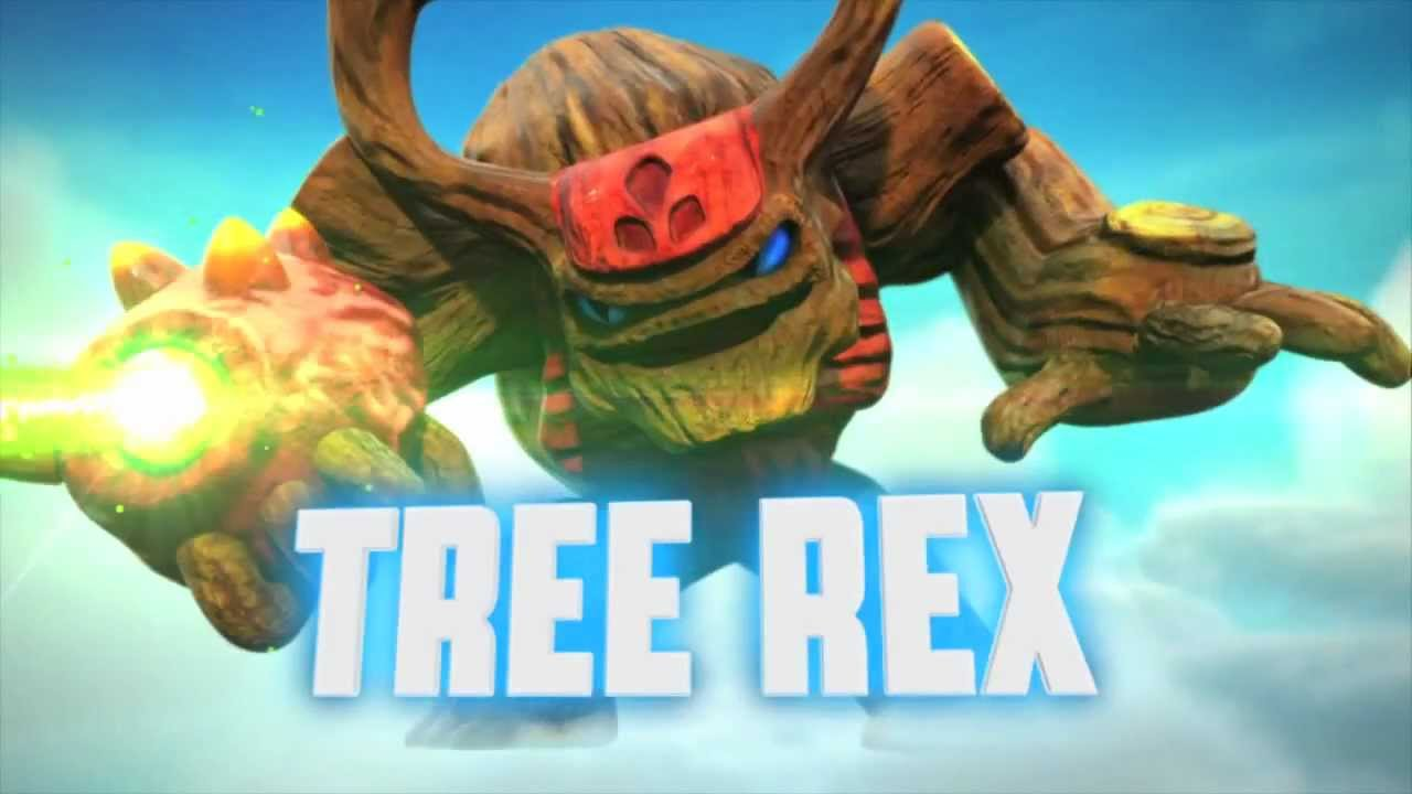 meet the skylanders tree rex smash