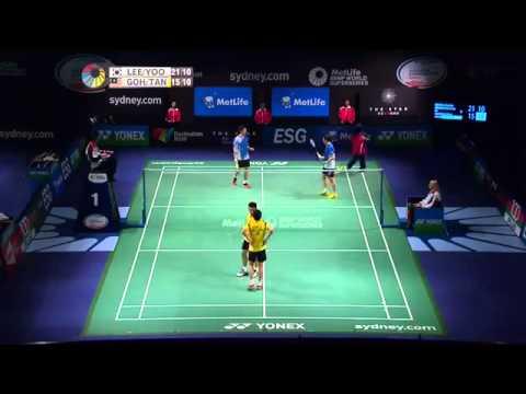 QF   2014 Australian Badminton Open   Lee Yong Dae  Y Yeon Seong vs Tan Wee Kiong  Goh V Shem