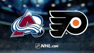 Simmonds, Mason lead Flyers past Avs, 4-0