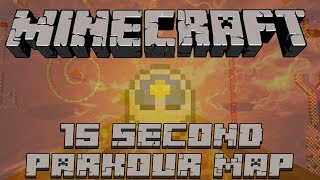 """Minecraft: 15 Second Parkour Map! """"Why you do this Sethbling?"""""""