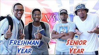 High School: Freshman Year vs Senior Year