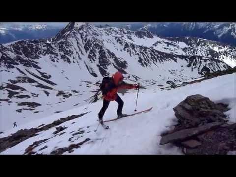 Ascensión y descenso con esquís del Pic de la Serrera