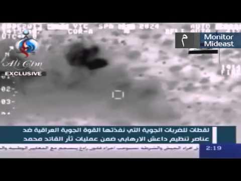 Iraqi Air Force Pounds Al-Qaida Stronghold in Al-Anbar