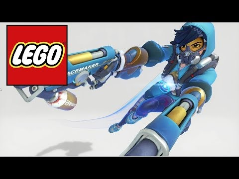 How to make LEGO Tracemaker (Graffiti) Tracer from Overwatch