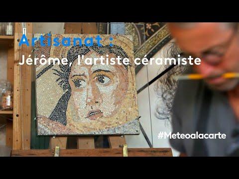 Artisanat : Jérôme, l'artiste céramiste