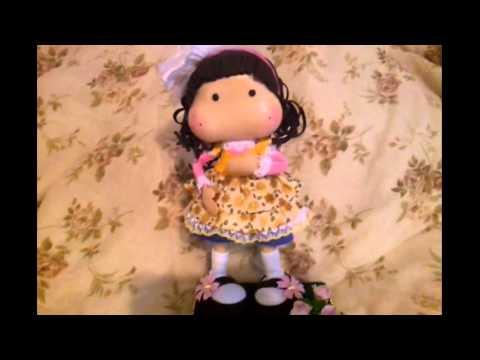 Magnolia Tilda Fofucha Doll  foamy doll