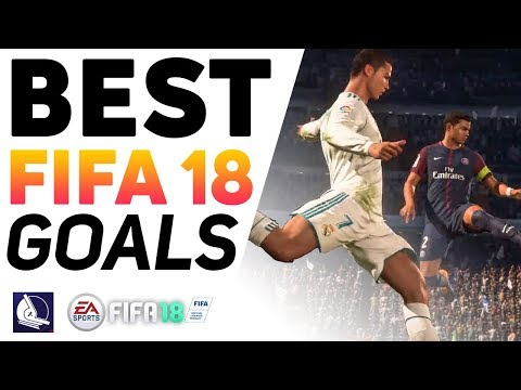 Top 10 best Fifa goals in EA Sports Fifa 18 #5