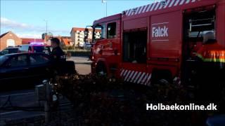 Motorbrand i båd i Holbæk Gl. Havn