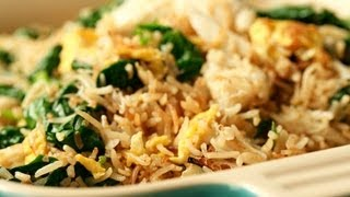Spinach Fried Rice..