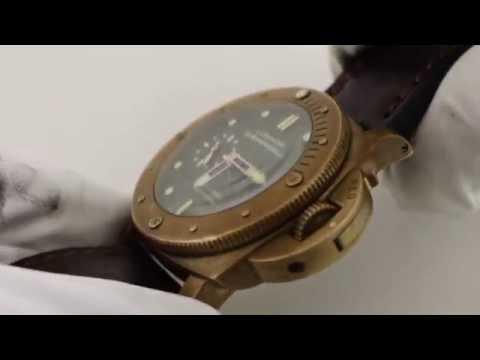 Panerai Luminor Submersible 1950 PAM 382 BRONZO Luxury Watch Review