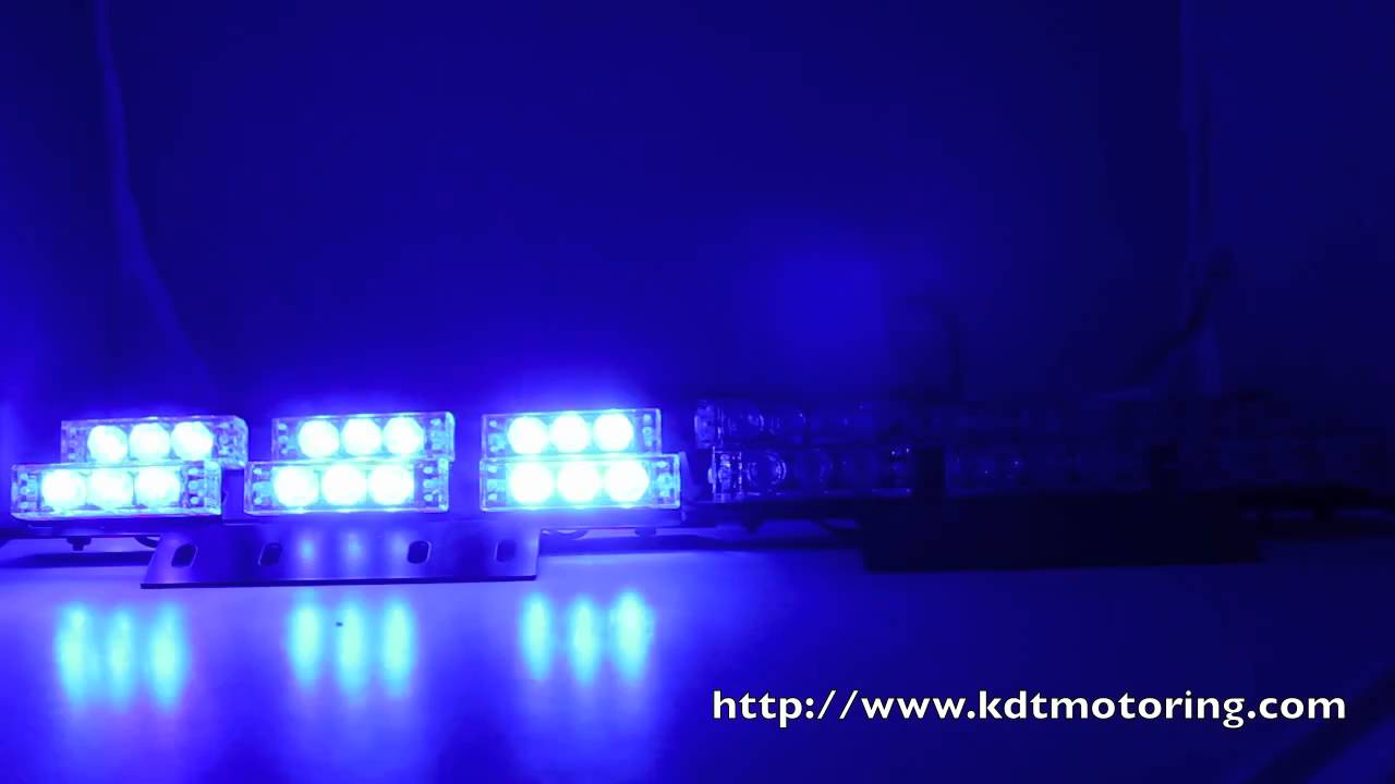 36 led blue red police firefighter ems ambulance. Black Bedroom Furniture Sets. Home Design Ideas