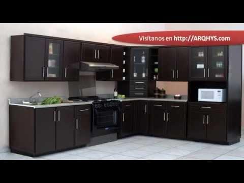 Cocinas Integrales Para Espacios Peque Os Youtube