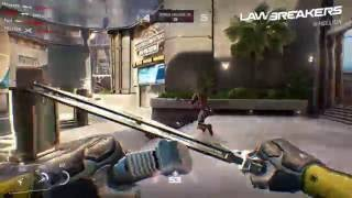 LawBreakers - Turf War Gameplay