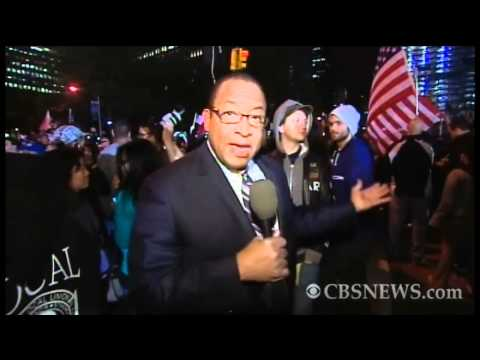 NYC reacts to Osama bin Laden's death