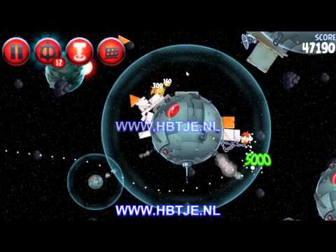 Angry Birds Star Wars 2 Naboo Invasion p1-17 3 stars