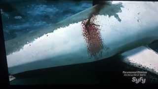 Sharknado (2013) Chainsaw Scene