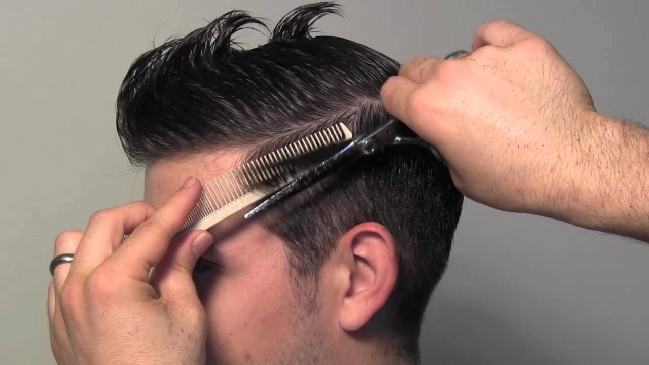 New Style Hair Cutting : Classic Tailored Mens Hair Cut - YouTube