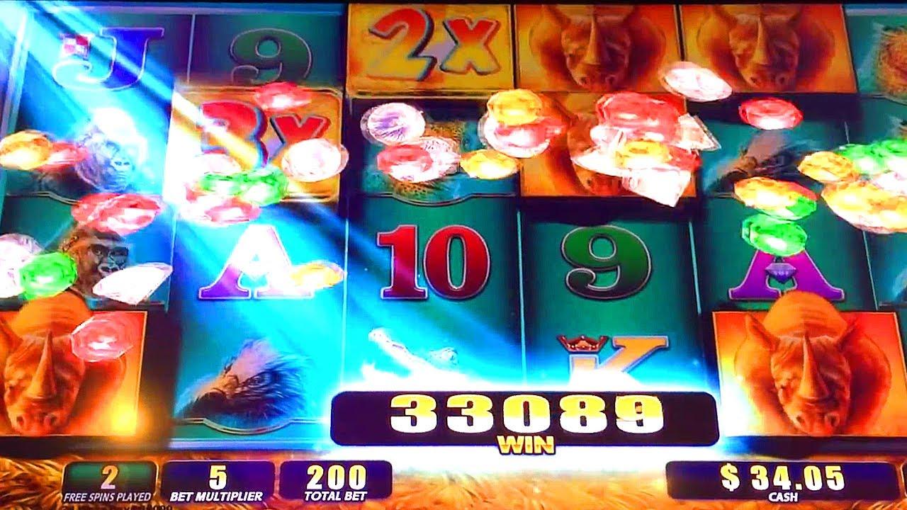 raging rhino slot machine free play
