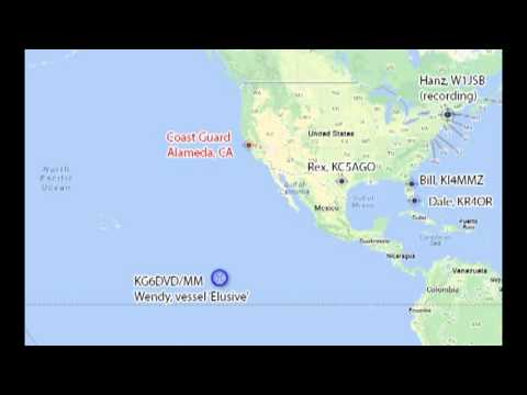 Maritime Emergency HAM radio recording