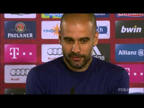 Pep Guardiola denkt an United: