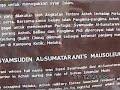 Kejadian Aneh Di Makam As Syed Syamsudin As Sumatrani.