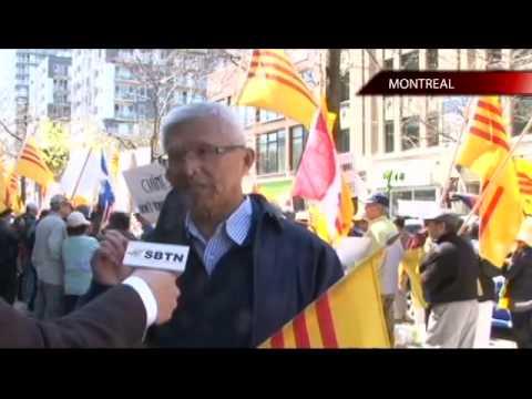 Cuộc biểu tình chống lại việc Trung Cộng xâm phạm lãnh hải của Việt Nam