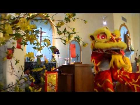 DOT PHAO MUA LAN - DRAGON DANCE 2014