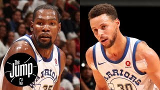 Kevin Durant or Steph Curry: Who is more important to the Warriors? | The Jump | ESPN