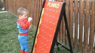 Spiderman Plays Plinko
