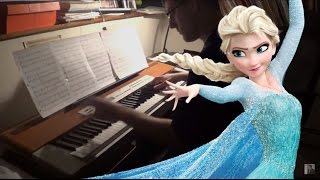 Disney Frozen Let It Go For Advanced Piano Solo!