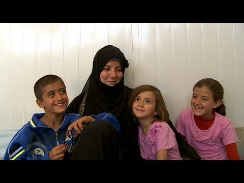 Family life in a Syrian refugee camp: 'A mother must be stronger than a mother'