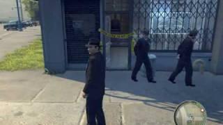 Mafia 2 Police Crime Scene