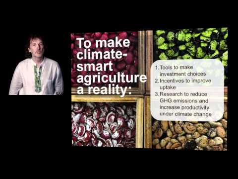 CGIAR Bruce Campbell talks about climate change, food security and a vision of the future