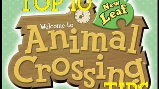 Top 10 Animal Crossing: New Leaf Tips