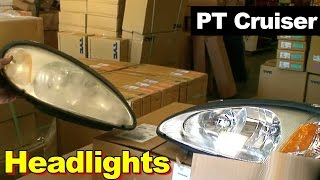 Cabin air filter replacement- PT Cruiser videos