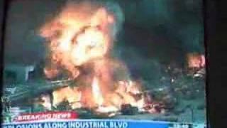 Gas Explosion In Dallas