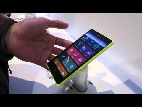 Nokia XL Android Smartphone - Hands-On At MWC 2014
